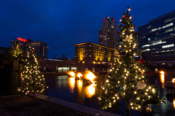 Christmas at WaterFire, 2014