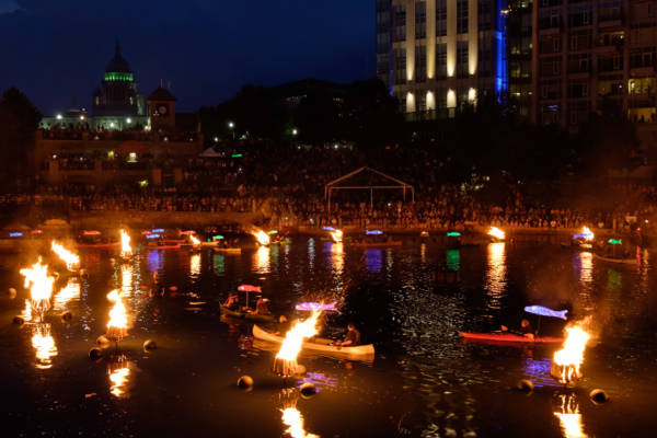 Waterfire Clear Currents, 2015