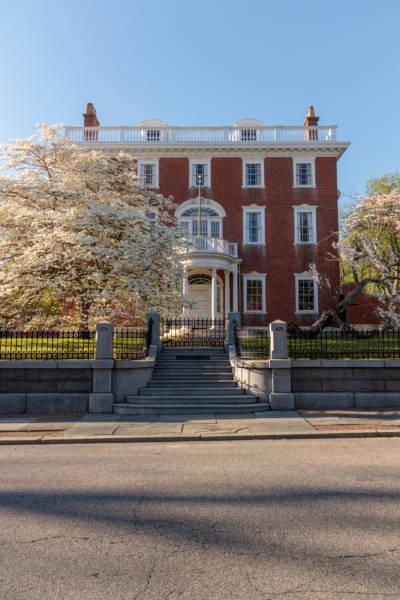 Spring Evening at John Brown House, 2019