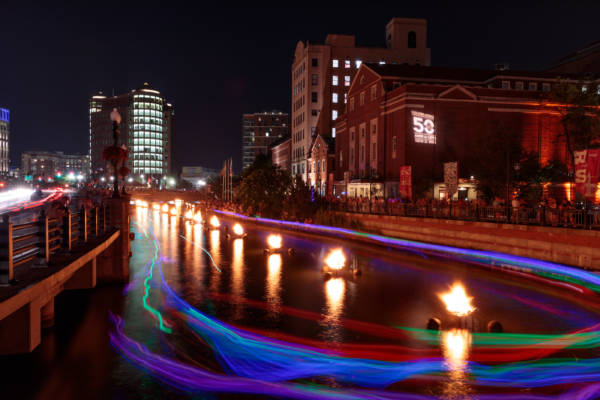Clear Currents at WaterFire 2019