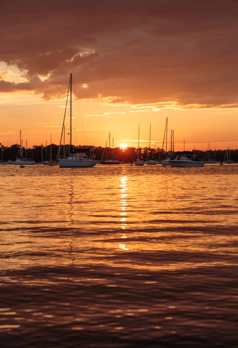 Bristol Harbor Sunset, 2019