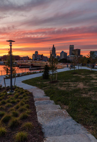 Providence River Park Sunset, 2019