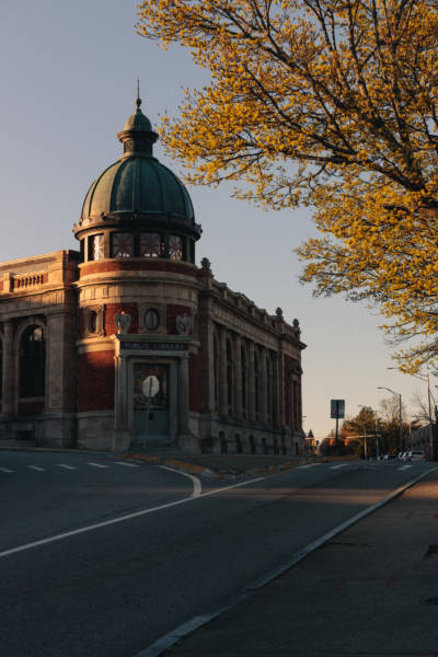 Spring Afternoon at Pawtucket Library, 2021