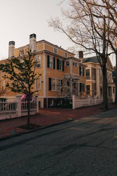 Spring Evening on Congdon Street, 2021