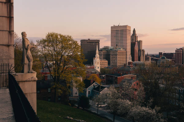 Springtime Sunset at Prospect Terrace Park, 2021